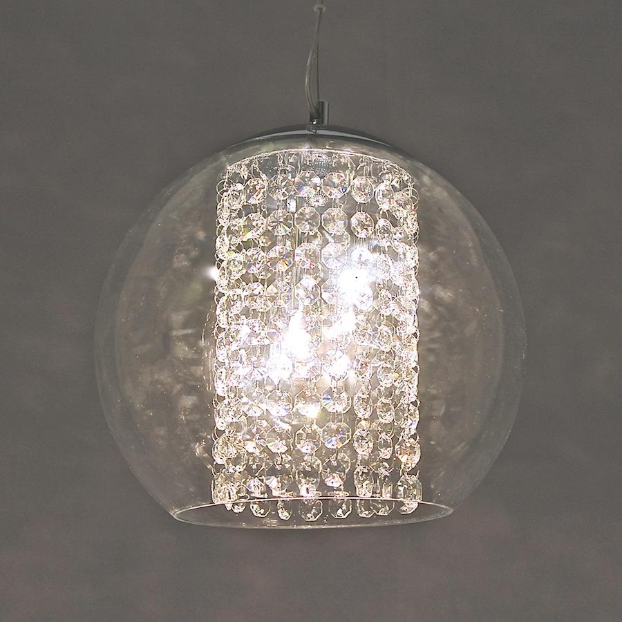 1218/3 CRYSTAL/GLASS PENDANT