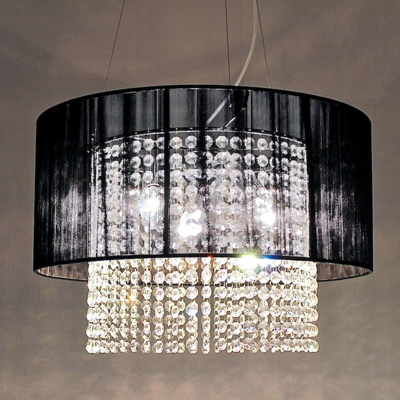 1638/400 CRYSTAL AND STRING CHANDELIER