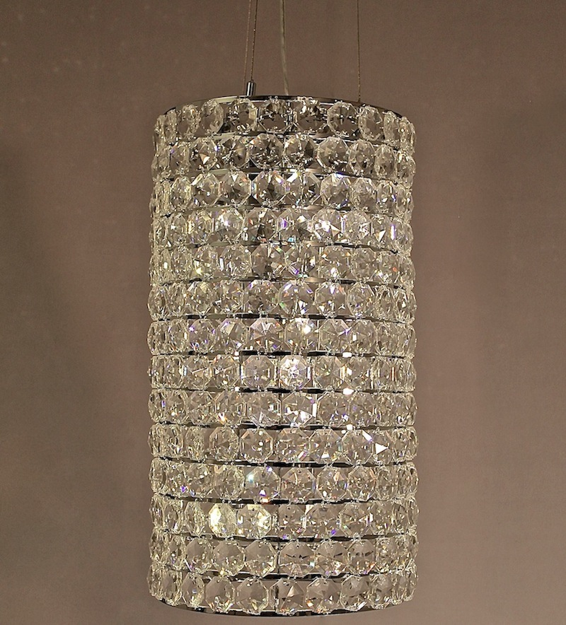 3525 TALL CRYSTAL PENDANT