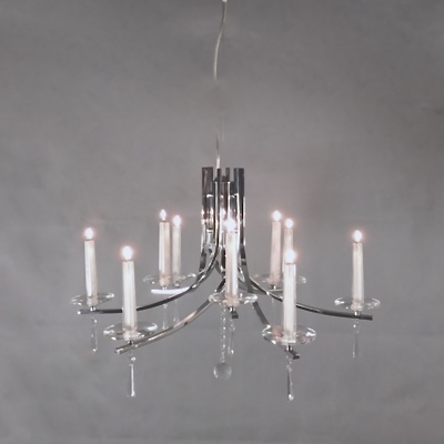 Wax candle chandelier z two lights wax candle chandelier aloadofball Choice Image