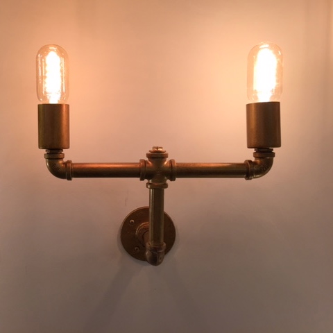 Industrial-Style Wall Light