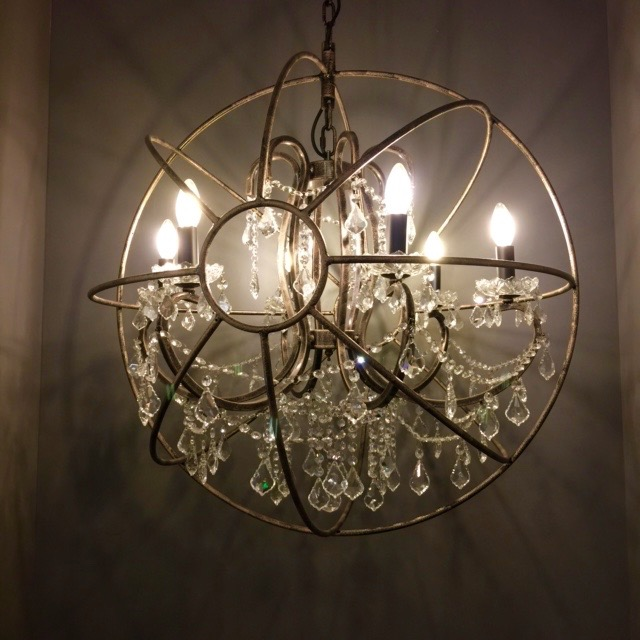 Replica Timothy Oulton Gyro Crystal Chandelier