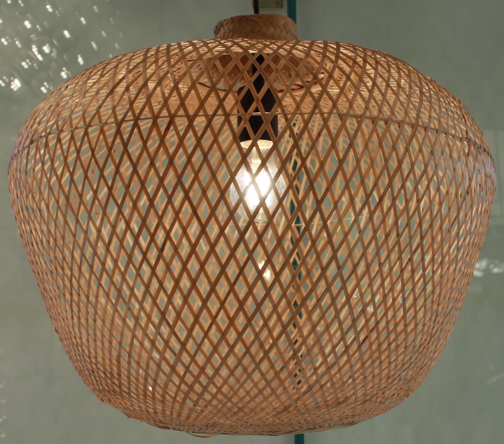 Bamboo Pendent Light