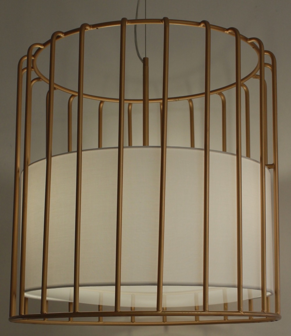 Bird Cage Pendent Light